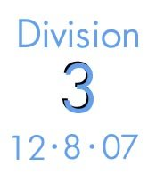 Division 3: 12-8-07