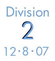 Division 2: 12-8-07