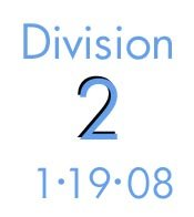 Division 2: 1-19--08
