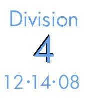 Division 4: 12-14-08