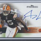 2011 Topps Precision #115 Greg Little On Card Autograph RC