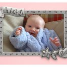 Pink Border 'Oh Baby! It's a Girl' Baby Photo Picture Frame