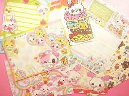 Kawaii Memo and Sticker Flakes Sampler~FREE SHIPPING