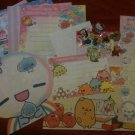 Kawaii Memo Sampler and Kawaii Sticker Flakes~FREE SHIPPING