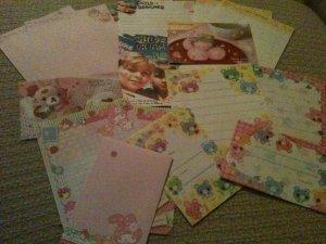 Kawaii Letter Set Sampler~FREE SHIPPING