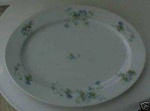H&G Selb Bavaria Heinrich Small Serving Platter Florals