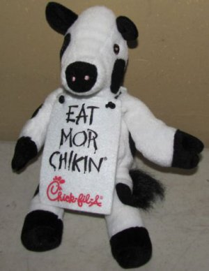 Chick-fil-A Eat Mor Chikin Promo Plush Advertizing Cow