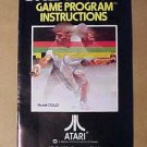 ATARI BREAKOUT Game Instructions - 1978 - MINT!!!