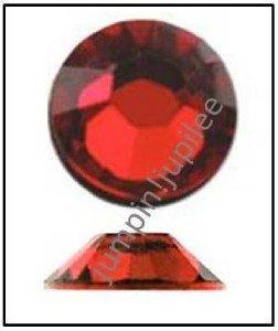 LIGHT SIAM Red Swarovski NEW 2058 Crystal Flatback Rhinestones 144 pcs 2mm 7ss