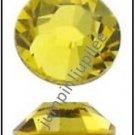CITRINE Yellow Swarovski Flatback 2028 Flatback Rhinestones 12 pieces 5mm 20ss