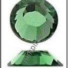 ERINITE Green Swarovski 2028 Crystal Flatback Rhinestones 12 pieces 5mm 20ss