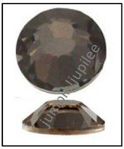 SILVER NIGHT Swarovski New 2058 Crystal Flatback Rhinestones 72 pieces 5mm 20ss