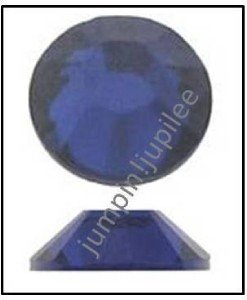 DARK INDIGO Blue Swarovski 2058 Crystal Flatback Rhinestones 144 pieces 5mm 20ss