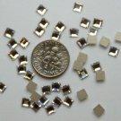 SQUARE Crystal Clear Swarovski Flatback 2400 Rhinestones 144 pieces 4mm