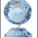 LIGHT SAPPHIRE BLUE Swarovski Crystal 2058 Flatback Rhinestones 72 pc 5mm 20ss