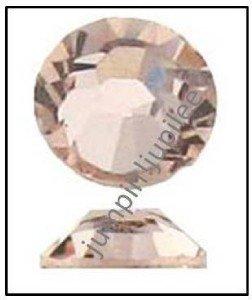 SILK Peach Swarovski Crystal 2028 Flatback Rhinestones 144 pieces 1.8mm 5ss