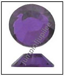 PURPLE VELVET Swarovski Crystal 2058 Flatback Rhinestones 36 pieces 5mm 20ss