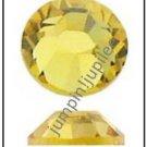 LIGHT TOPAZ Yellow Swarovski 2058 Crystal Flatback Rhinestones 72 pcs 5mm 20ss