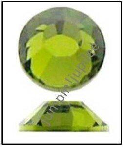 OLIVINE Green Swarovski Crystal Flatback 2028 Rhinestones 144 pieces 2.5mm 9ss