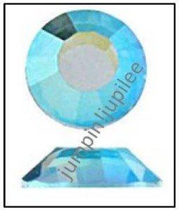 LIGHT COLORADO TOPAZ AB Swarovski Crystal 2058 Flatback Rhinestone 12 p 5mm 20ss
