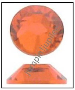 HYACINTH Orange Swarovski Flatback 2028 Crystal Rhinestones 144 pcs 2.5mm 9ss