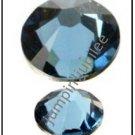 DENIM BLUE Swarovski Crystal New Color 2058 Flatback Rhinestones 144 pcs 2mm 7ss