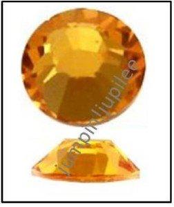 SUNFLOWER Yellow Swarovski Flatback 2028 Crystal Rhinestones 12 pieces 5mm 20ss