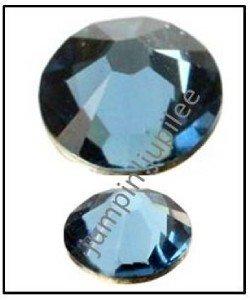 DENIM BLUE Swarovski Crystal New Color 2058 Flatback Rhinestones 144 pc 5mm 20ss