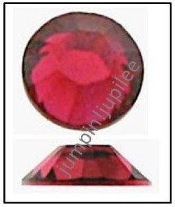 RUBY Swarovski Flatback 2028 Crystal Rhinestones 36 pieces 5mm 20ss