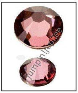 ANTIQUE PINK Swarovski Crystal New Color 2058 Flatback Rhinestones 12 5mm 20ss