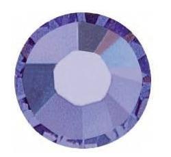 TANZANITE Purple Swarovski Crystal 2028 Rhinestones Flatback 5mm 72 pieces 20ss
