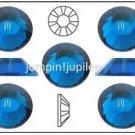 CAPRI BLUE Swarovski NEW 2058 Crystal Flatback Rhinestones 144 pieces 5mm 20ss