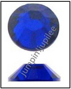 COBALT BLUE Swarovski Crystal NEW 2058 Flatback Rhinestones 72 pieces 5mm 20ss