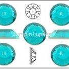 BLUE ZIRCON Swarovski NEW 2058 Crystal Flatback Rhinestones 144 pieces 4mm 16ss