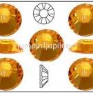 SUNFLOWER Yellow Swarovski Flatback 2028 Crystal Rhinestones 144 pieces 2mm 7ss