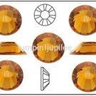 TOPAZ Gold Swarovski NEW 2058 Crystal Flatback Rhinestones 144 pieces 3mm 12ss