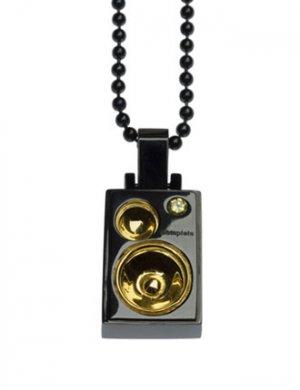 Complete Technique Studded Black and Gold Left Speaker