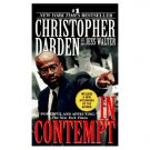 "Christopher Darden with Jess Walter ""In Contempt"" Hardback Book"