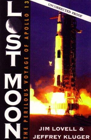 "Jim Lovell & Jeffrey Kluger ""Lost Moon"" Hardback Book"