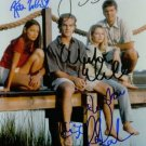 DAWSONS CREEK CAST SIGNED AUTOGRAPHED 8X10 RP PHOTO KATIE HOLMES +