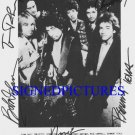 BOB DYLAN AND TOM PETTY HEARTBREAKERS SIGNED AUTOGRAM 8X10 RP PHOTO