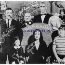 THE ADDAMS FAMILY CAST ALL AUTOGRAPHED RP PHOTO GOMEZ LURCH UNCLE FESTER PUGSLEY