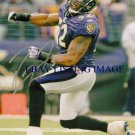 RAY LEWIS SIGNED AUTOGRAPHED 8x10 RP PHOTO BALTIMORE RAVENS