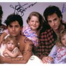 FULL HOUSE CAST SIGNED AUTOGRAPHED 6x9 RP PROMO PHOTO