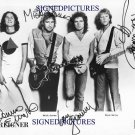 FOREIGNER GROUP BAND SIGNED RP PROMO PHOTO HEAD GAMES