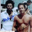 MIAMI VICE CAST SIGNED AUTOGRAPHED RP PHOTO BY BOTH TV