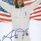 SHAUN WHITE SIGNED AUTOGRAPHED RP PHOTO SNOWBOARD CHAMP