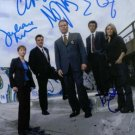 LAW AND ORDER CAST SIGNED AUTOGRAPHED 8x10 RP PHOTO CRIMINAL INTENT BY 5 ERBE NOTH D'ONOFRIO +