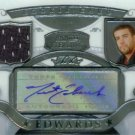 TRENT EDWARDS JERSEY AUTO BOWMAN STERLING ROOKIE 2007