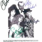 THE WITCHES OF EASTWICK CAST SIGNED AUTOGRAPHED RP ALL4